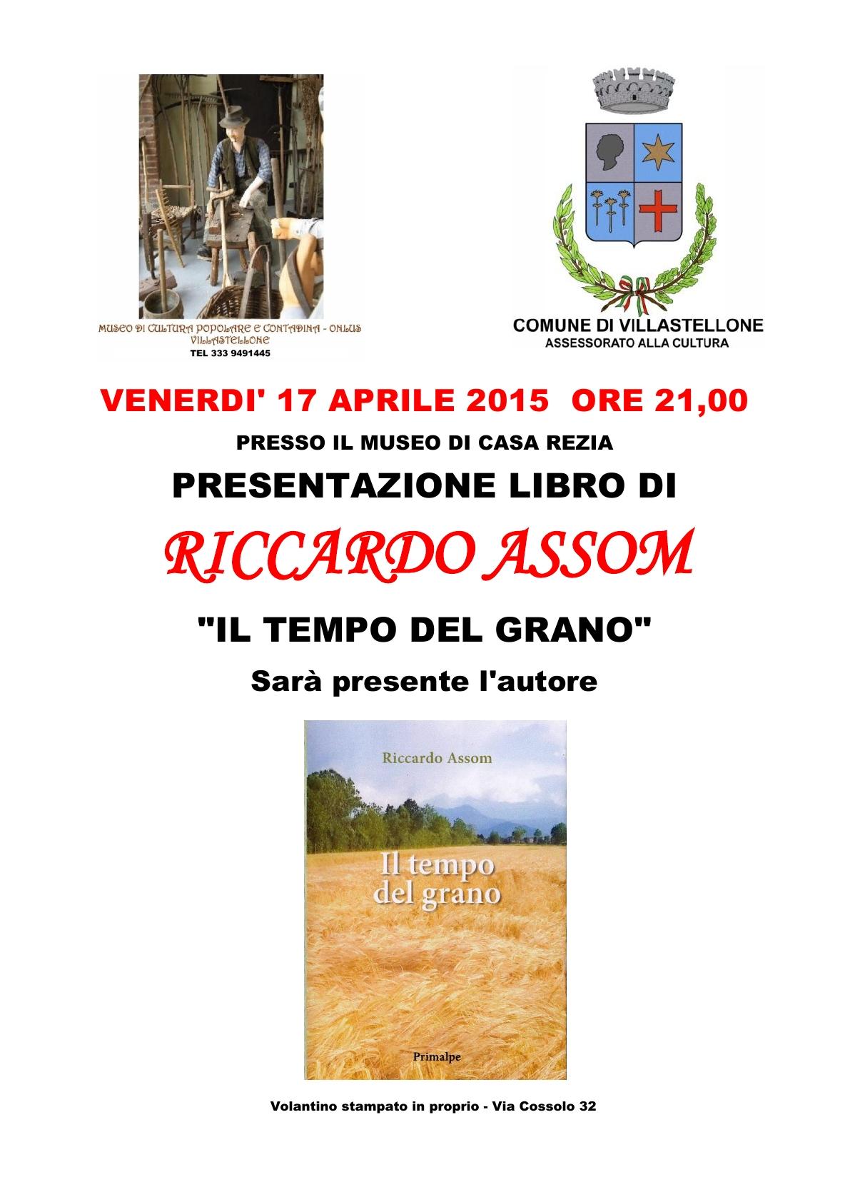 6_Locandina libro Riccardo Assom