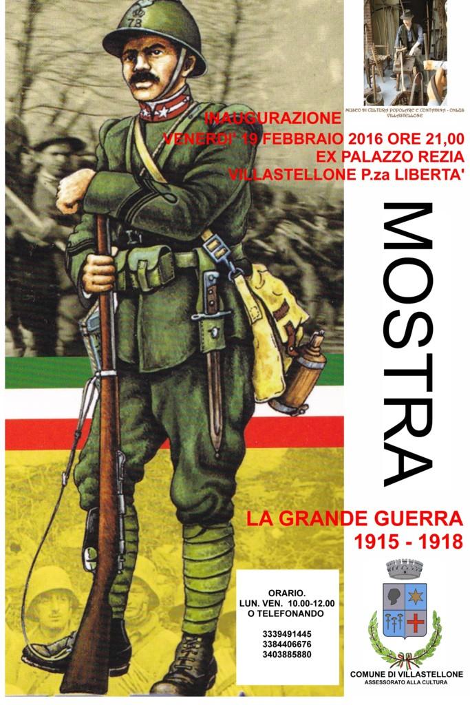 Locandina mostra 1915-18